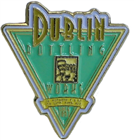 Dublin Triangle Pin