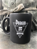 Black and Green Triangle Mug