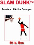 SLAM DUNK - HEAVY DUTY POWERED ALKALINE DETERGENT - 50 LBS.
