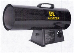 BE Portable Heater Propane Forced Air - HL125F