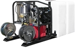 T185TWH - 200 Gallon Skid with SK40005VH  Hot Pressure Washer and Reels