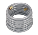 "3/4"" UltraMax Hose CLEAR; 100' Length; 150 PSI WP; 600 PSI Burst Strength"