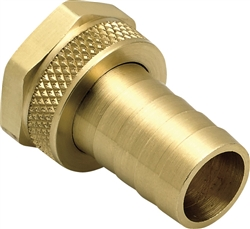 "Underhill Hose Repair. Solid Brass, Ultra Reliable. HBRM-75-F (3/4"" Female Mender)"