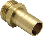 "Underhill Hose Repair. Solid Brass, Ultra Reliable. HBRM-75-M (3/4"" Male Mender)"