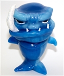 Mean Fish resin figure
