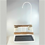 Deluxe Traveler Table Top - Top Only - Textured White