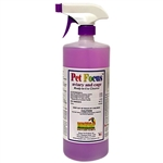 Pet Focus Aviary and Cage Cleaner - Ready-to-Use - Quarts - Case of 12