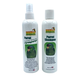 Parrot Shampoo & Bath Spray Set - 8 oz each