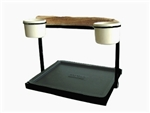 Traveler Table Top - Textured Black
