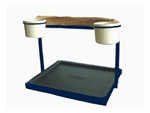 Traveler Table Top - Textured Midnight Blue