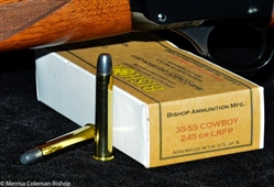 NEW 38-55 38-55 Winchester Ammunition 240g RNFP - Made in the U.S.A. with U.S. Components. Per 20