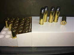 NEW MADE 45 Colt Ammo, Cowboy Action Load, 200g RNFP Lead, New Brass - 50 Rounds per box -  Made in the U.S.A. with U.S. Components.