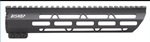 "Ultra Light Ultra Slim 10"" Handguard for AR-15 and 458 SOCOM Rifles"