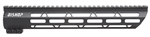 "Ultra Light Ultra Slim 12"" Handguard for AR-15 and 458 SOCOM Rifles"