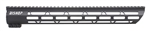 "Ultra Light Ultra Slim 15"" Handguard for AR-15 and 458 SOCOM Rifles"