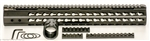 "Ultra Light Ultra Slim 15"" Handguard for AR-10 and AR 308 Rifles"