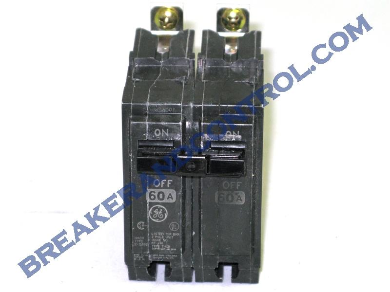 Ge Thqb2160 Circuit Breaker