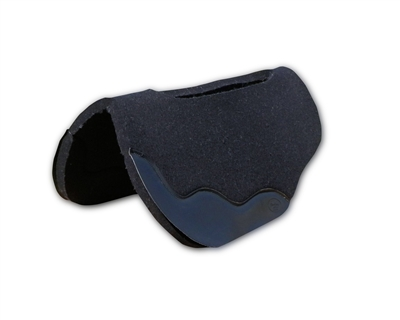 "3/4"" Black Wool Felt Saddle Pad"