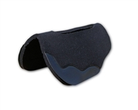 "1"" Black Wool Felt Saddle Pad"