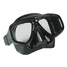 low volume dive mask blask silicone skirt