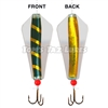 Gold Zebra Tasmanian Devil Fishing Lure