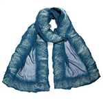 Christa Louise Frame Shimmer Scarf