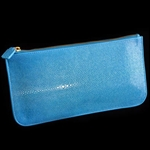 VIVO Shagreen Zip Envelope with Round Edges