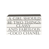 "E. Lawrence Ltd. Quotation Series: ""A Girl Should Be Two Things..."" 5 Volume Stack"