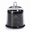 Zodax Apothecary Guild Scented Candle Jar with Glass Dome - Black / Large