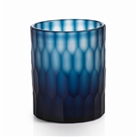 Zodax Algarve Deep Blue Cut Glass