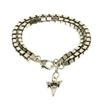 Luv Aj Shark Tooth Charm Bracelet