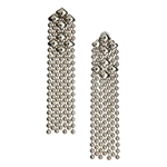 Sergio Gutierrez SG Liquid Metal Classic Mesh Earrings E14