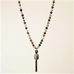 Alyce Ross Designs Ocean Jasper & Buddha Necklace