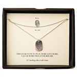 b.u. Jewelry be you I Vow Necklace