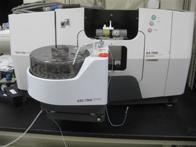 Shimadzu AA-7000G Atomic Apsorption Spectrophotometer