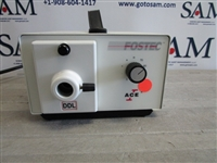 Fostec Schott Ace 1 Fiber Optic Light Source Illuminator Lamp