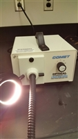 Comet Optical Fiber Lite Microscope Illuminator With Fiber Optic Ring
