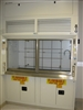 Lab Crafters Open Bypass Dual Sash 6ft. Benchtop Chemical Fume Hood