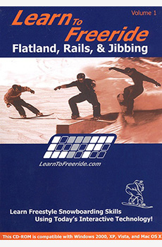 Learn to Freeride; Flatland, Rails & Jibbing - CD