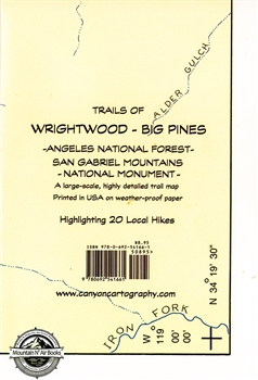 MAP- Trails of Wrightwood / Big Pines
