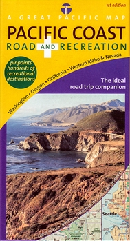 Pacific Coast Road and Recreation Map