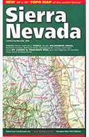 Sierra Nevada Map