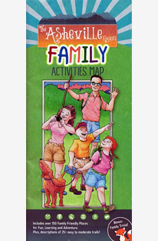 Asheville Region Family Activities Map