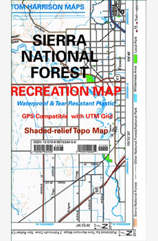 Sierra National Forest Recreation Map
