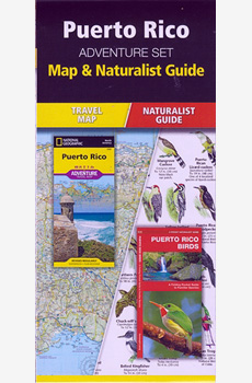 Puerto Rico Adventure Set; A Map and a Pocket Naturalist identification card