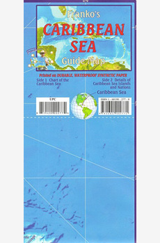 Franko's Caribbean Sea Guide Map