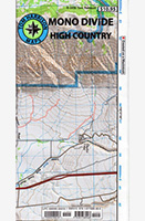 Map- Mono Divide High Country