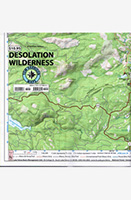 Desolation Wilderness Trail Map - Tom Harison