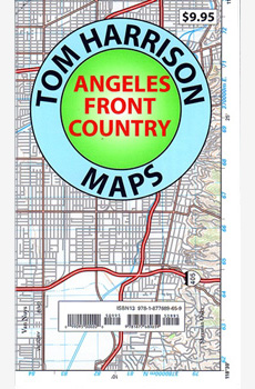 Angeles Front Country Trail Map