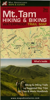 Map adventures Guide to Mt. Tam Trails 3rd edition